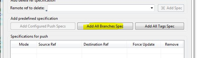 add all branches spec