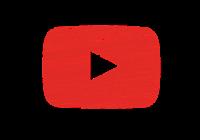 Der Youtube Playbutton nachgezeichnet im Bleistift-Stil