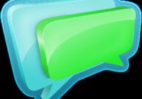 Sprechblasen als Symbol für Blogger-Kommentare