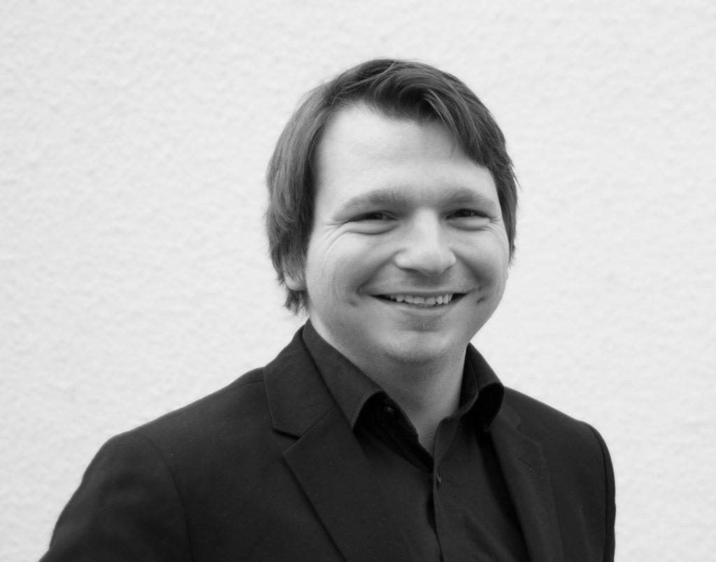 Robert von Plötzlich-Selbständig.de Schwarz/Weiß Bild