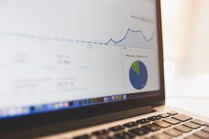 Ein Screenshot mit SEO-Statistiken
