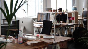 Innenanblick eines Büros