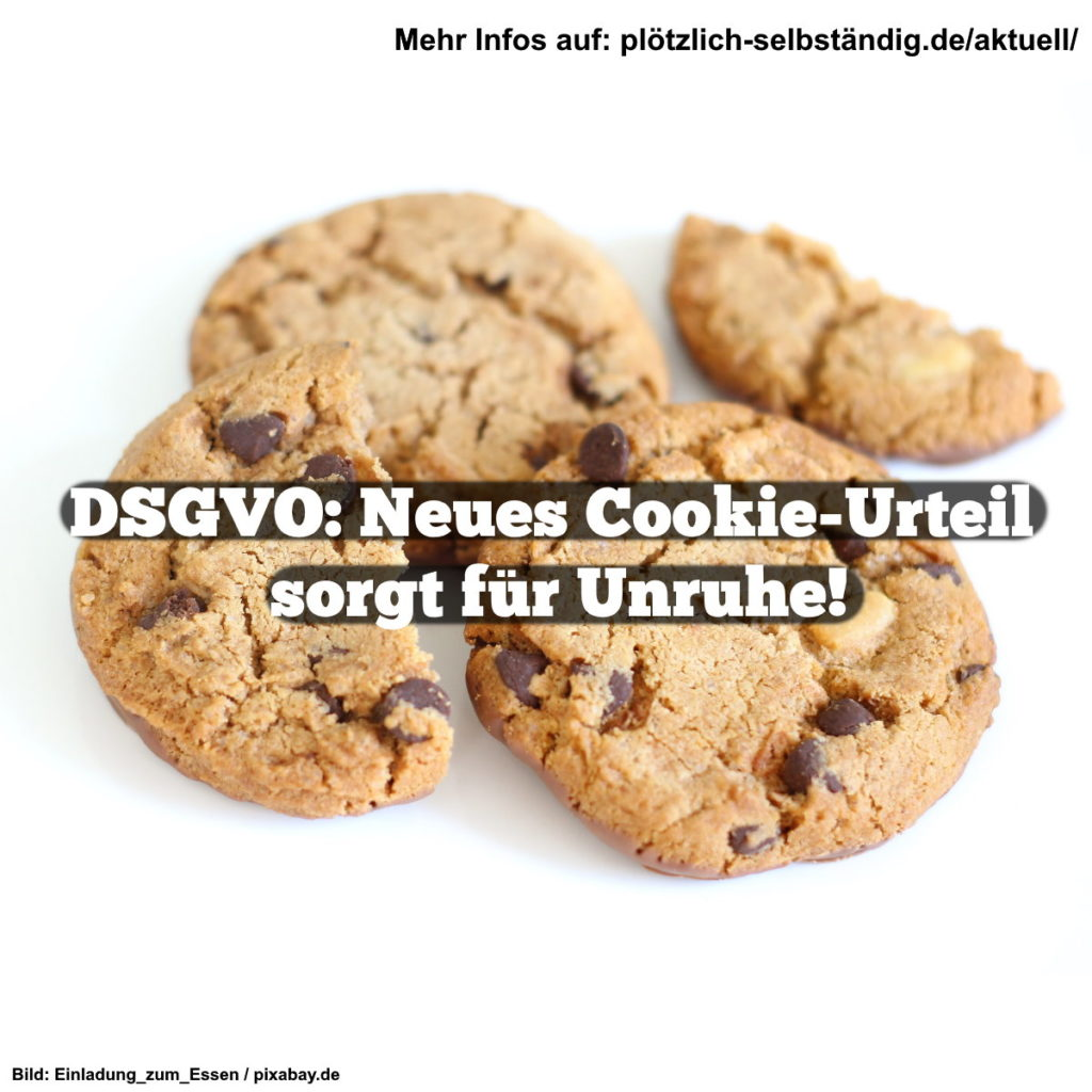 DSGVO: Neues Cookie-Urteil sorgt für Unruhe
